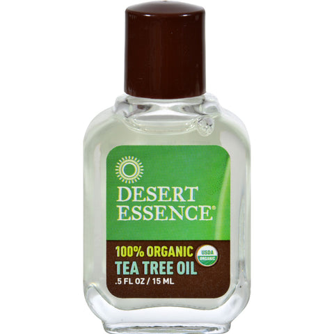 Desert Essence Tea Tree Oil - 0.5 fl oz