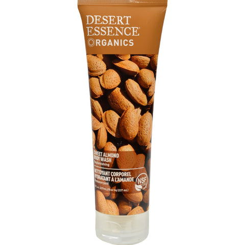 Desert Essence Body Wash Almond - 8 fl oz