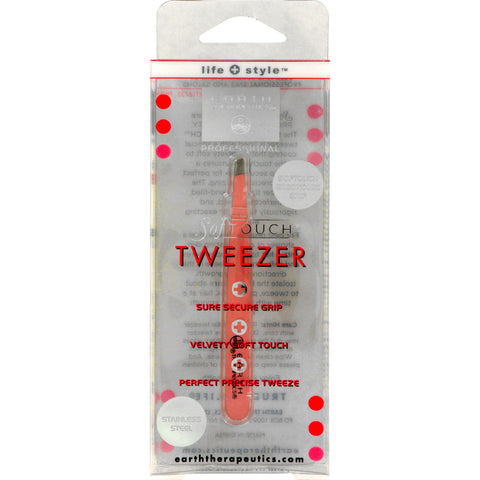 Earth Therapeutics Softouch Tweezer Pink - 1 Unit