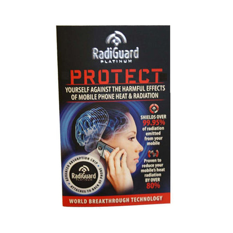 Radiguard Platinum Chip - Radiation Shield for Cell Phones - Case of 24