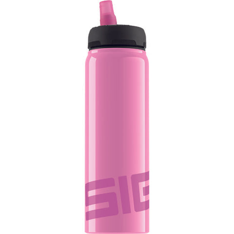 Sigg Water Bottle - Active Top - Pink - Case of 6 - .75 Liter