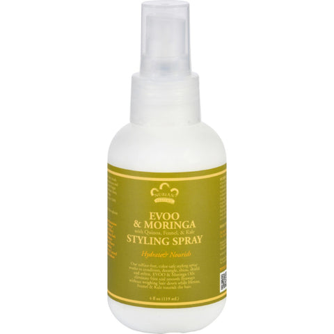Nubian Heritage Styling Spray - Evoo and Moringa - 4 oz