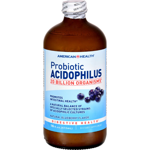 American Health Probiotic Acidophilus Blueberry - 15 fl oz