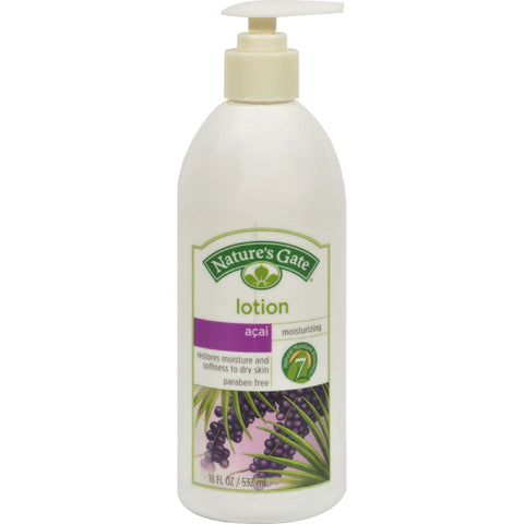 Nature's Gate Acai Moisturizing Lotion - 18 fl oz