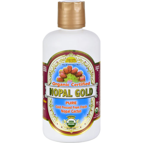 Dynamic Health Organic Certified Nopal Gold - 32 fl oz