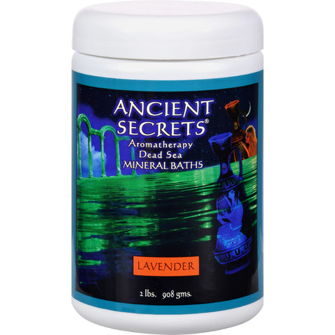 Ancient Secrets Aromatherapy Dead Sea Mineral Baths Lavender - 2 lbs