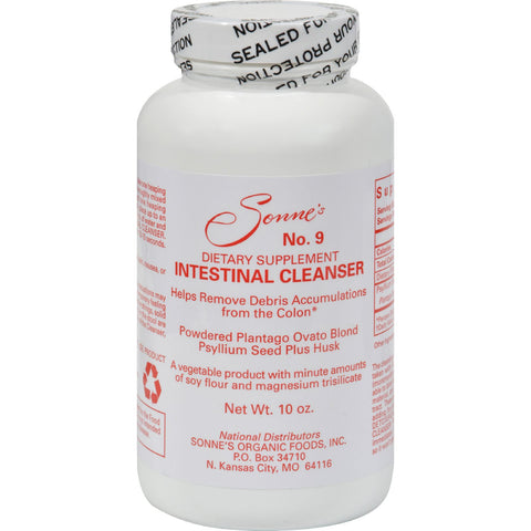Sonne's Intestinal Cleanser No 9 - 10 oz
