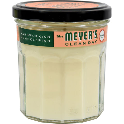 Mrs. Meyer's Soy Candle - Geranium - Case of 6 - 7.2 oz Candles