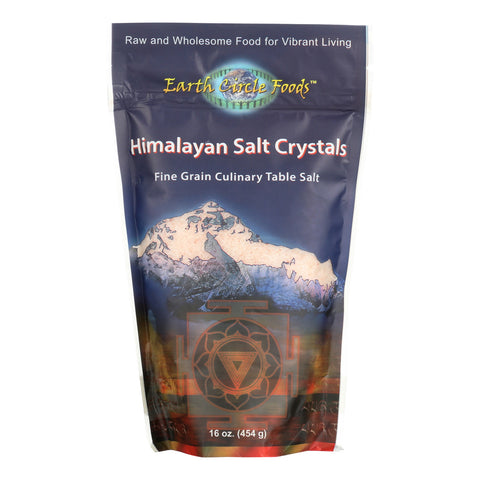 Earth Circle Organics Himalayan Salt Crystals - Culinary - 16 oz