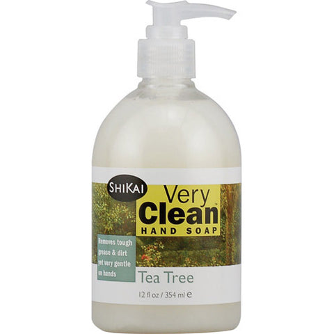 Shikai Products Hand Soap - Very Clean Tea Tree - 12 oz