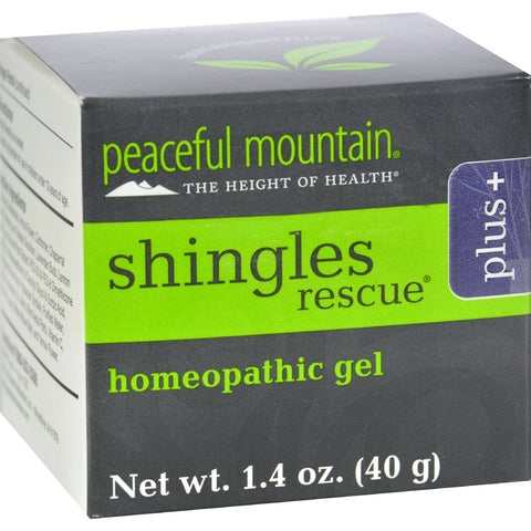 Peaceful Mountain Shinglederm Rescue Plus Extra Strength - 1.4 oz