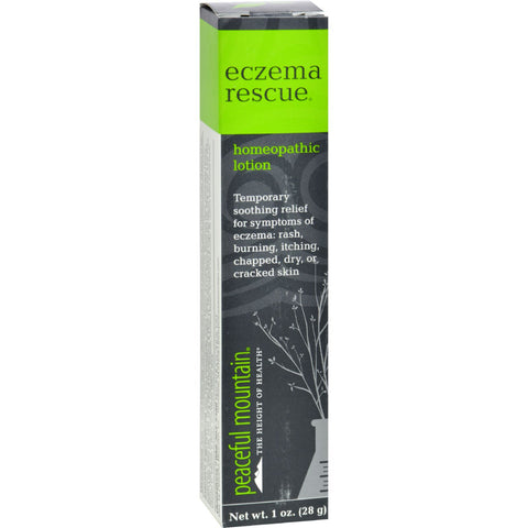 Peaceful Mountain Eczema Rescue Homeopathic Lotion - 1 oz