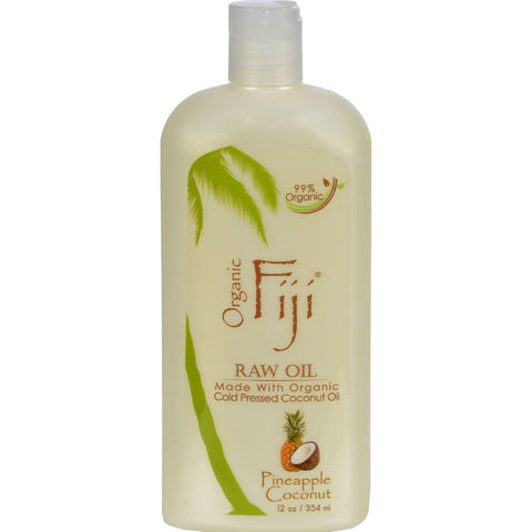 Organic Fiji Virgin Coconut Oil Pineapple - 12 fl oz