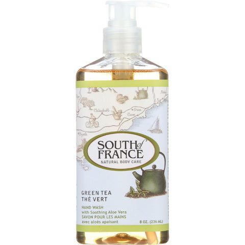 South Of France Hand Wash - Green Tea - 8 oz - 1 each