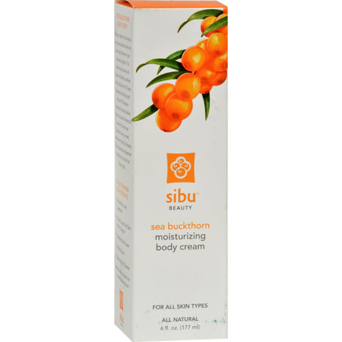 Sibu Body Cream - Sea Buckthorn - 6 oz