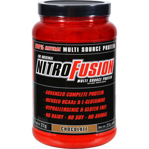 Nitro Fusion Multi-Source Protein Formula Chocolate - 2 lbs