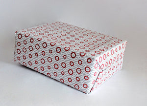 Toraja Wrapping Paper - Buffalo Hoops