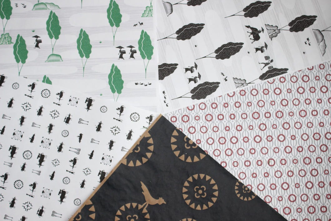 Toraja Wrapping Paper-Variety Pack