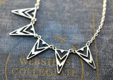 Triangle Statement Necklace - Livin' Freely  - 4