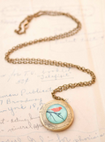Bird And Branch Locket Necklace - Livin' Freely  - 2