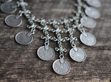 Boho Coin Statement Necklace - Livin' Freely  - 4