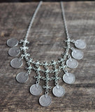 Boho Coin Statement Necklace - Livin' Freely  - 2