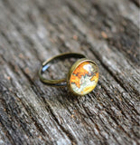 Vintage Map Ring - Livin' Freely  - 2