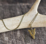 Dainty Arrowhead Necklace - Livin' Freely  - 3