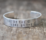 Live By The Sun Love By the Moon Cuff Bracelet - Livin' Freely  - 1