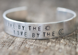 Live By The Sun Love By the Moon Cuff Bracelet - Livin' Freely  - 2