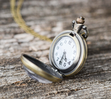 Full Moon Pocket Watch Necklace - Livin' Freely  - 3