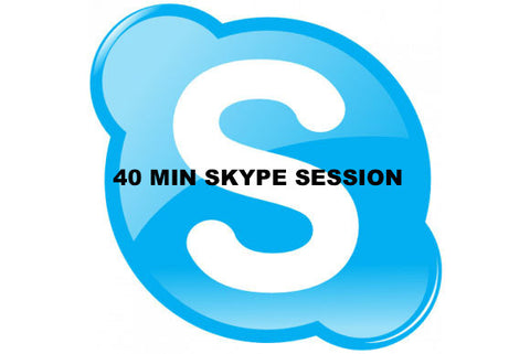 40 MINUTE SKYPE TIME