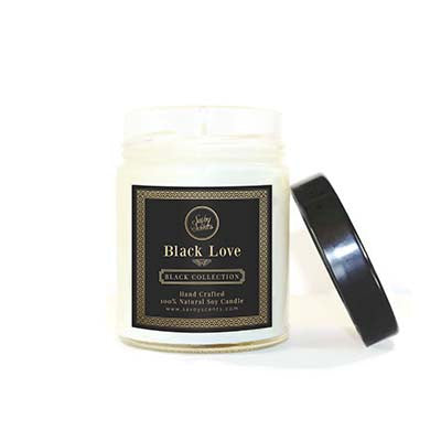 Black Love Tumbler Candle - SaVoy Scents | Handmade Bath, Body & Candles