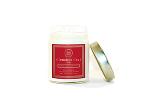 Cinnamon Chai Tumbler Candle HOLIDAY EDITION - Savoy Scents Candle Co
