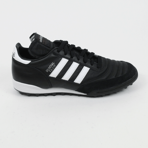 Adidas Mundial Turf Men Soccer Shoes  - Black White - SoccerCart/SoccerMall