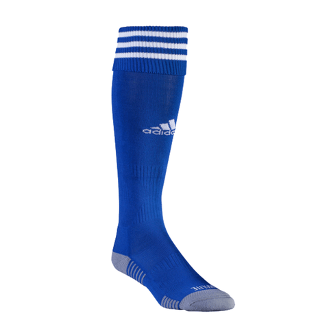 Adidas Copa Zone Cushion III Soccer Socks- Cobalt white