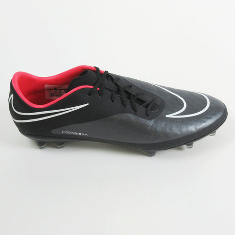 Nike Men Hypervenom Phatal FG Soccer Cleats - Black