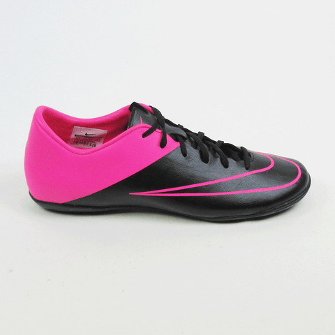 Nike Mercurial Victory V IC Men Indoor Soccer Shoes - Black Pink - SoccerCart/SoccerMall