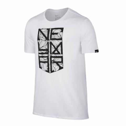 Nike Neymar Jr 2016-17 Youth Crest T-Shirt - White