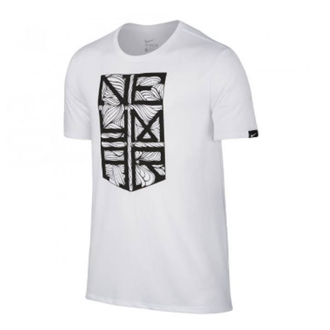 Nike Neymar Jr 2016-17 Men Crest T-Shirt -White