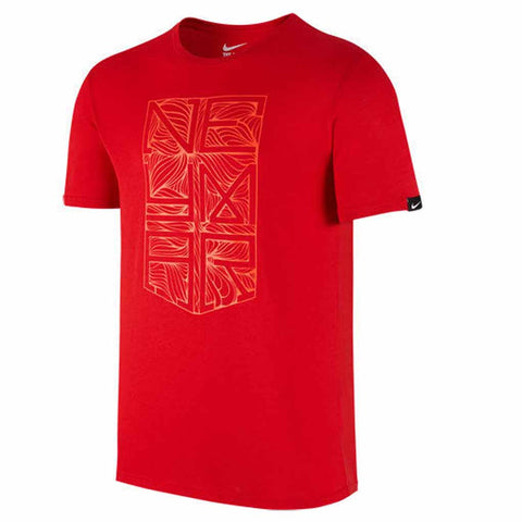 Nike Neymar Jr 2016-17 Youth Crest T-Shirt -Red