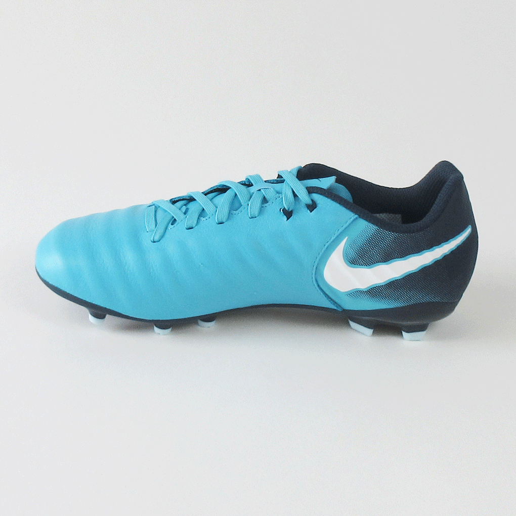 more photos 75efd 6e3b8 ... Nike Junior Tiempo Ligera IV FG Firm Ground Soccer Cleats-Blue ...