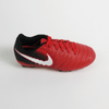Nike Junior Tiempo Ligera IV FG Firm Ground Soccer Cleats-Red