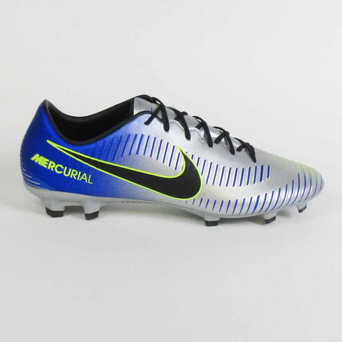 Nike Mercurial Veloce III Neymar Jr NJR FG Men Soccer Cleats -Racer Blue