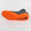 Nike PhantomX 3 Academy DF IC Indoor Soccer Shoes-Grey Orange - SoccerCart/SoccerMall