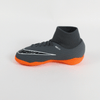 Nike Kids Phantom III Academy DF Dynamic IC Indoor Soccer Shoes-Grey Orange