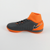 Nike Junior ObraX 2 Academy DF IC Indoor Soccer Shoes-Black Orange