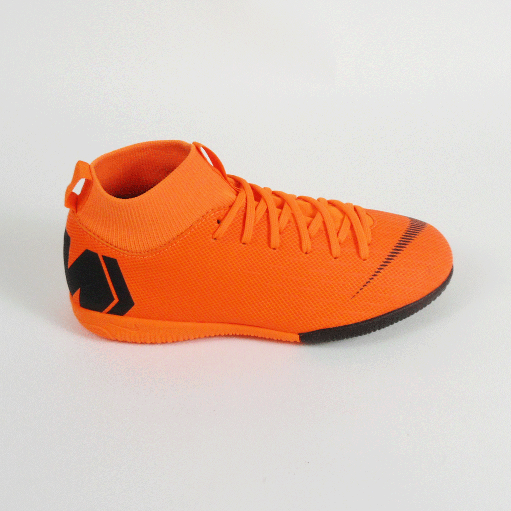 bf6c82860 Nike Junior Superflyx 6 Academy GS Dynamic IC Indoor Soccer Shoes-Orange ...