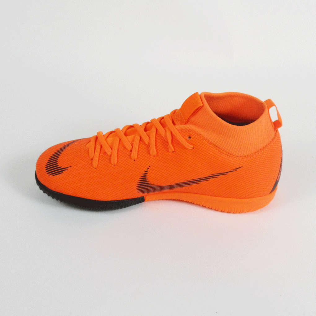 690586629 ... Nike Junior Superflyx 6 Academy GS Dynamic IC Indoor Soccer Shoes-Orange