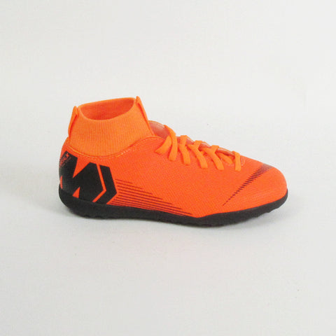 Nike Junior Superflyx 6 Club GS Dynamic TF Turf Soccer Shoes-Orange - SoccerCart/SoccerMall